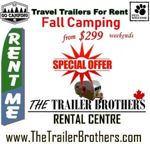 Rent any Travel Trailers