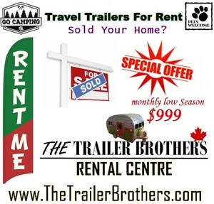 Sold that Home? Travel Trailer Rentals