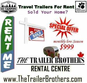 Sold? Travel Trailer for Rent