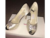 🌈Rainbow Couture Wedding Shoes Size 4