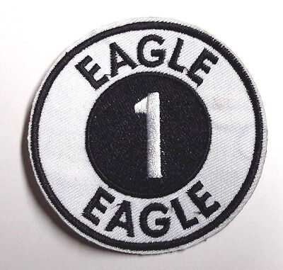 "Space:1999  Eagle 1 Spaceship 3"" Uniform Patch-USA Mailed(SPPA-1916)"