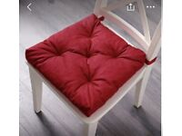 2X Red Padded Seat Covers