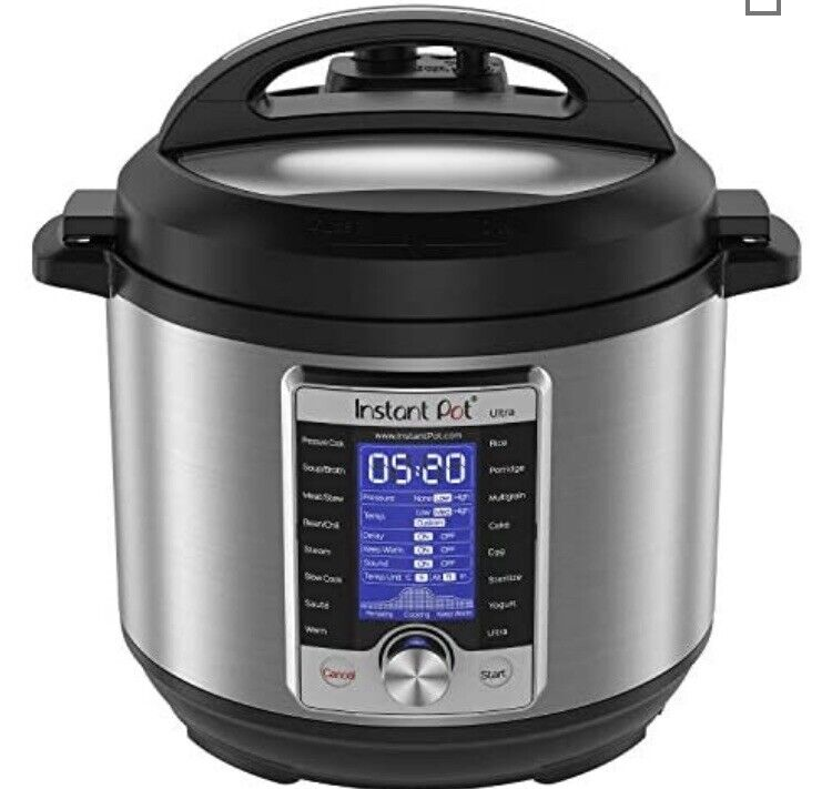 Instant Pot Ultra 6 Qt 10in1 Multi Use Programmable Pressure Cooker, Slow
