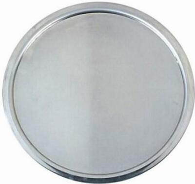 Pizza Pan Tray Oven Plate Aluminum Non Stick Wide Rim 14 Inch Service Serving