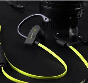 Bluetooth-v4-1-Cuffie-Gialle-con-Microfono-Sport-56S-Per-ASUS-ZenFone