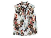 ERDEM for H&M Pleated Top Brand New With Tags SIZE 10