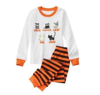 NWT Gymboree Girl Gymmies Halloween Costume Dog Cat Owl L/S Pajama Set 5 5T](5t Girl Halloween Costume)