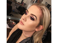 Makeup artist £40 for 2 people £25 for 1