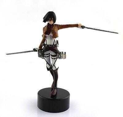Japanese Anime Attack On Titan Mikasa Ackerman 4 5    14 Cm Pvc Figure