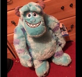 SULLY AND MIKE FROM MONSTER INC TEDDY
