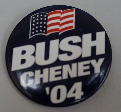 2004 George W  Bush Dick Cheney Campaign Pin Pinback Button Political President