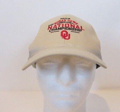 Nokia Sugar Bowl National Championship OU 2004 Ball Cap Hat Sugar Bowl Hat