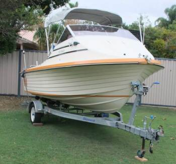 CRUISECRAFT 166 REEFRAIDER- 115hp MERCURY 2003 Caboolture Caboolture Area Preview