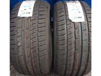 7.5mm brand new two tyres 255 40 18 tires tyre