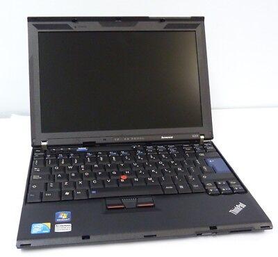 NOTEBOOK  LENOVO THINKPAD X201 INTEL CORE I5-M520  RAM 4GB HDD 160GB WIN 7 PRO