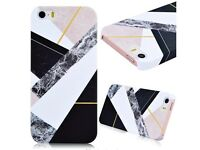 IPHONE MARBLE CASE FOR SE/5S/5 -unwanted gift never used