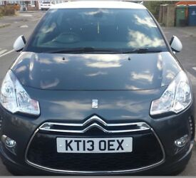 Citroen ds3 grey petrol low mileage full service history