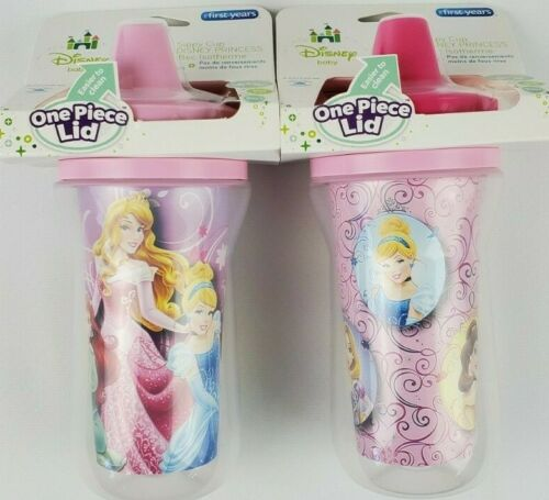 The First Years Disney Princess Insulated Sippy Cup 9 Oz Baby 2pk