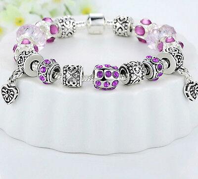 Bettelarmband Tibetanische Silber plattiert Armband Beads Pandora Stil Charm