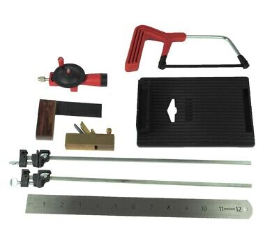 Proops Dolls House Miniaturists Tool Kit 12th Scale. Measure, Saw, Clamp. S7327  - Tool House Kit