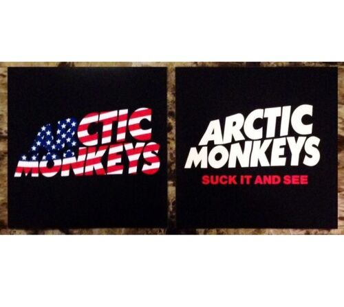 ARCTIC MONKEYS Ltd Ed RARE Stickers Lot +FREE Indie Stickers AM Tranquility Base