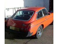 1979 MGB GT Classic car 53000 miles VGC