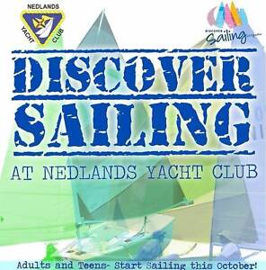 Perfect XMAS Present - Teens and Adults Start Sailing Courses 1&2 Nedlands Nedlands Area Preview