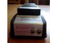 Vintage Schaller Fusschweller Foot Volume Control F 121