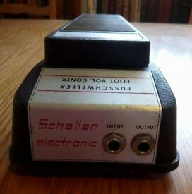 Volume pedal