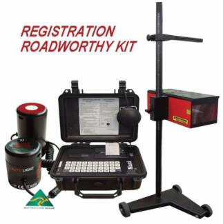 BRAKE, HEADLIGHT & TINT TESTER FREE DELIVERY*