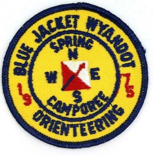 1975 Camporee Blue Jacket Wyandot Tecumseh Council Patch Boy Scouts BSA OH