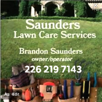 Ssunders lawn care services