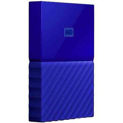 Western Digital WD 4TB My Passport Portable Hard Drive - Blue