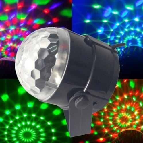 ≥ Crystal magic ball disco lamp rgb led discobol discolamp 180 ...