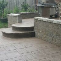 Decorate Concrete Pads and Walkways