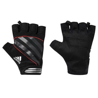 adidas Performance Gloves Schwarz Rot Fitness Handschuhe Trainingshandschuhe
