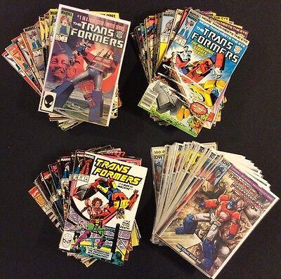 TRANSFORMERS #1 - 100 Comic Books COMPLETE Marvel & IDW Regeneration 1st Prints