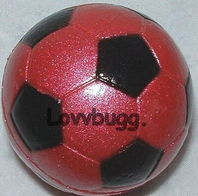 "Lovvbugg Pink Soccer Ball Mini for 18"" American Girl Doll Accessory"
