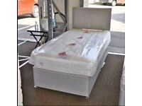 Highly Durable Single Size Divan Bed & Mattress Quickest Delivery Service