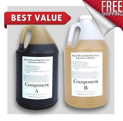 Urethane Rigid Pour Flotation Foam - 3 lb Density - Gallon Kits -2 GALLONS TOTAL