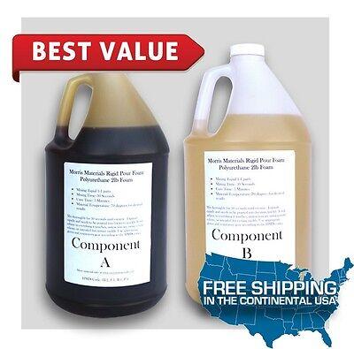 Urethane Rigid Pour Foam - 2 Lb Density - 2 Gallon Kit