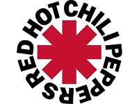 Red Hot Chilli Peppers - pair of tickets for sold out gig