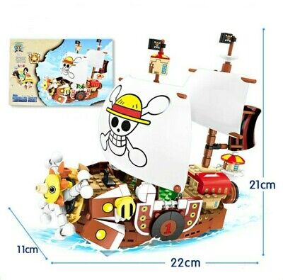 BARCO PIRATA ONE PIECE Thousand Sunny LUFFY - 432 PCS - BLOQUES...