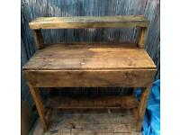 Rough n rustic desk/ dressing table
