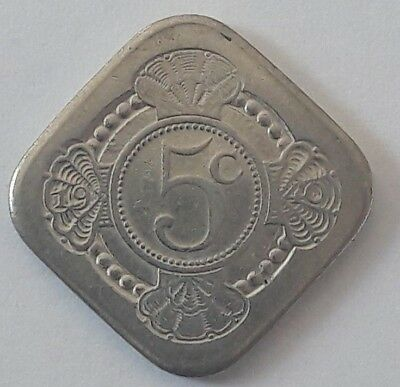 5 cent Nederland Pays bas  Queen Juliana - 'Netherlands free' 1945 1980 35 jaar