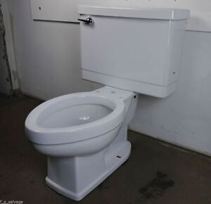 Old 1960s to 1980s toilet