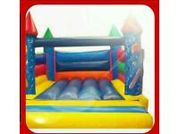 PRICE REDUCED 2 years old 12ft bouncy castle