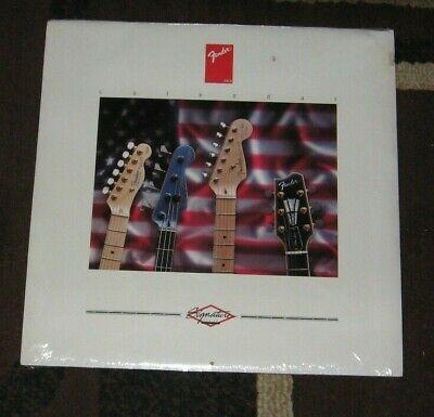 FENDER Guitars Signature Series Wall Calendar NEW Sealed 1993 Vintage RARE