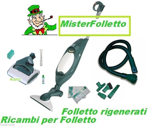 Scopa elettrica vorwerk folletto vk 140 sp520 lavapavime - Folletto vk 140 nuovo ...