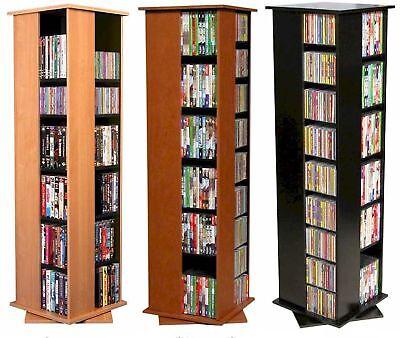 Floor Cd / Dvd Storage (612 CD 288 DVD Floor Spinner Storage Tower Rack -)
